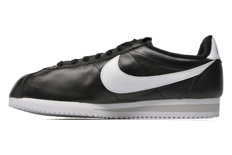 Sneaker Nike Classic Cortez Prem schwarz ansicht von vorne