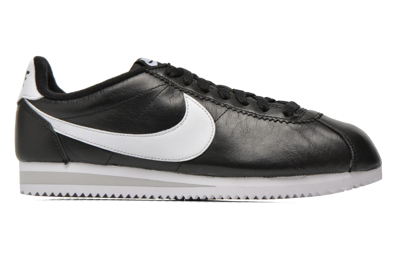 Sneaker Nike Classic Cortez Prem schwarz ansicht von hinten