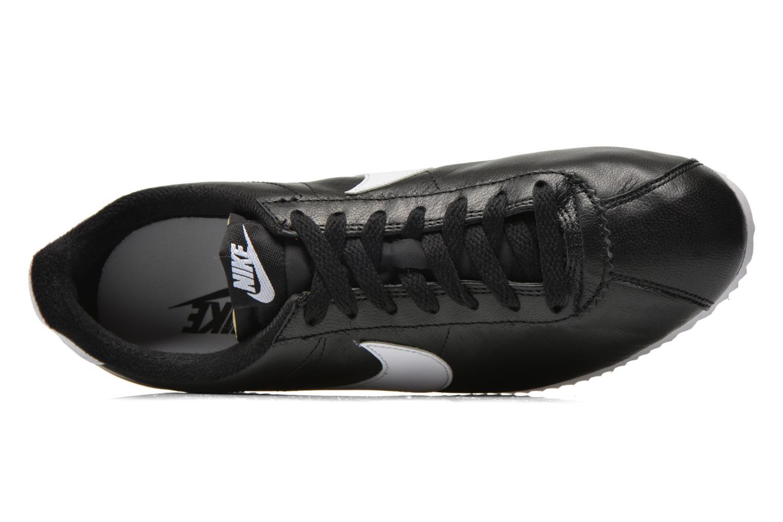 Sneaker Nike Classic Cortez Prem schwarz ansicht von links