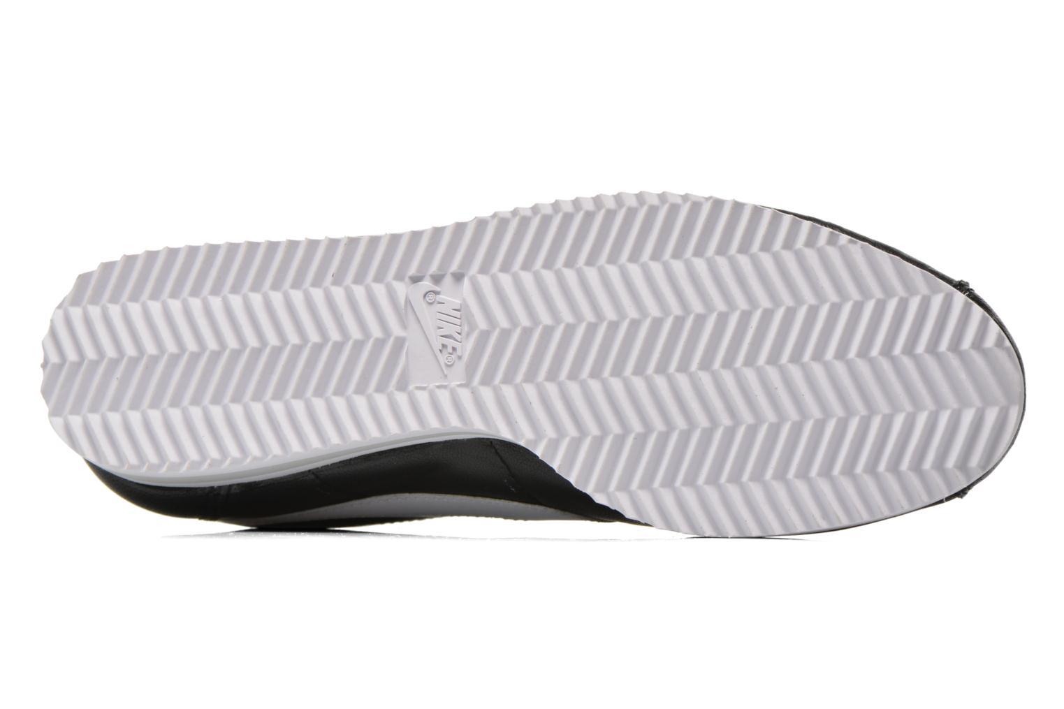 Sneaker Nike Classic Cortez Prem schwarz ansicht von oben