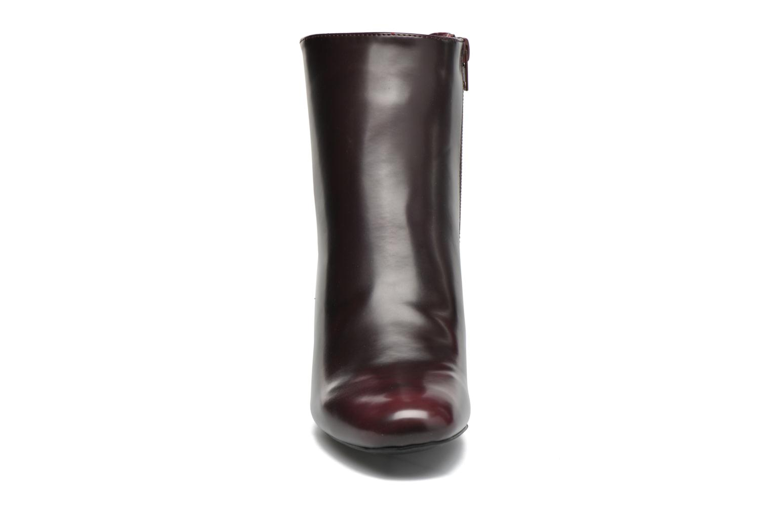 Ankle boots I Love Shoes THEBAIN Burgundy model view
