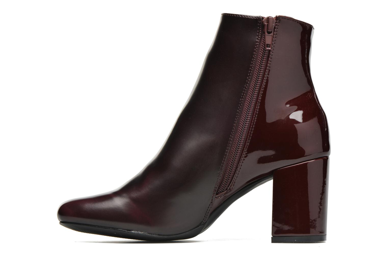 Ankle boots I Love Shoes THEBAIN Burgundy front view
