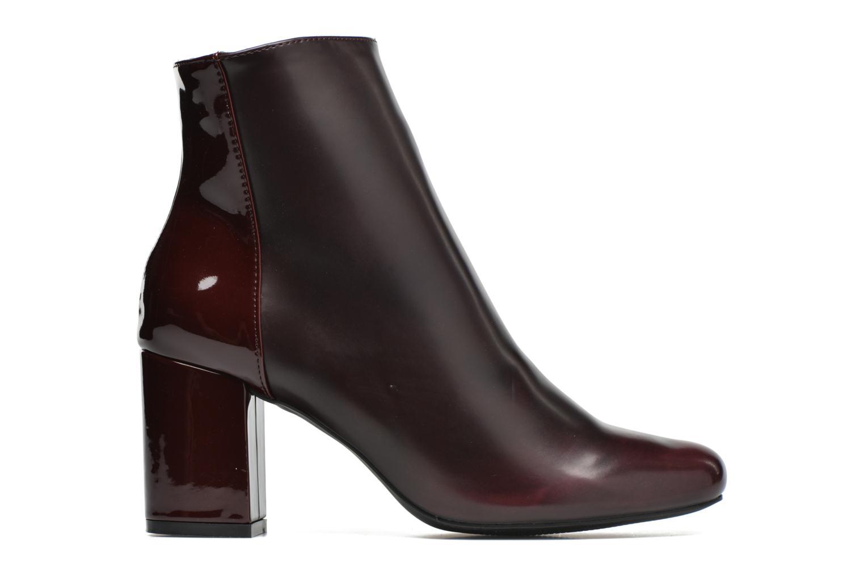 Ankelstøvler I Love Shoes THEBAIN Bordeaux se bagfra