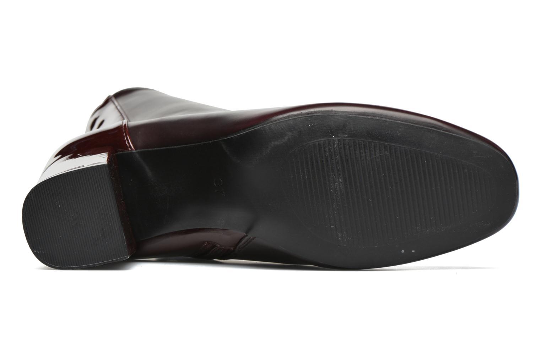Botines  I Love Shoes THEBAIN Vino vista de arriba
