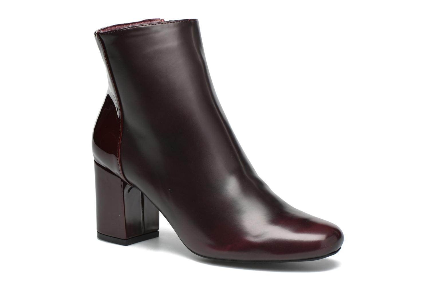 Ankle boots I Love Shoes THEBAIN Burgundy detailed view/ Pair view