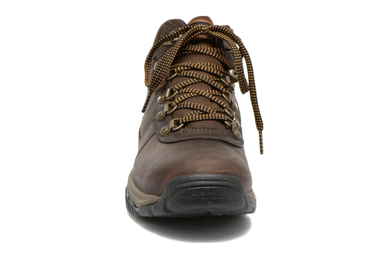 Lace-up shoes Timberland Mt Monroe Mid WP Brown model view
