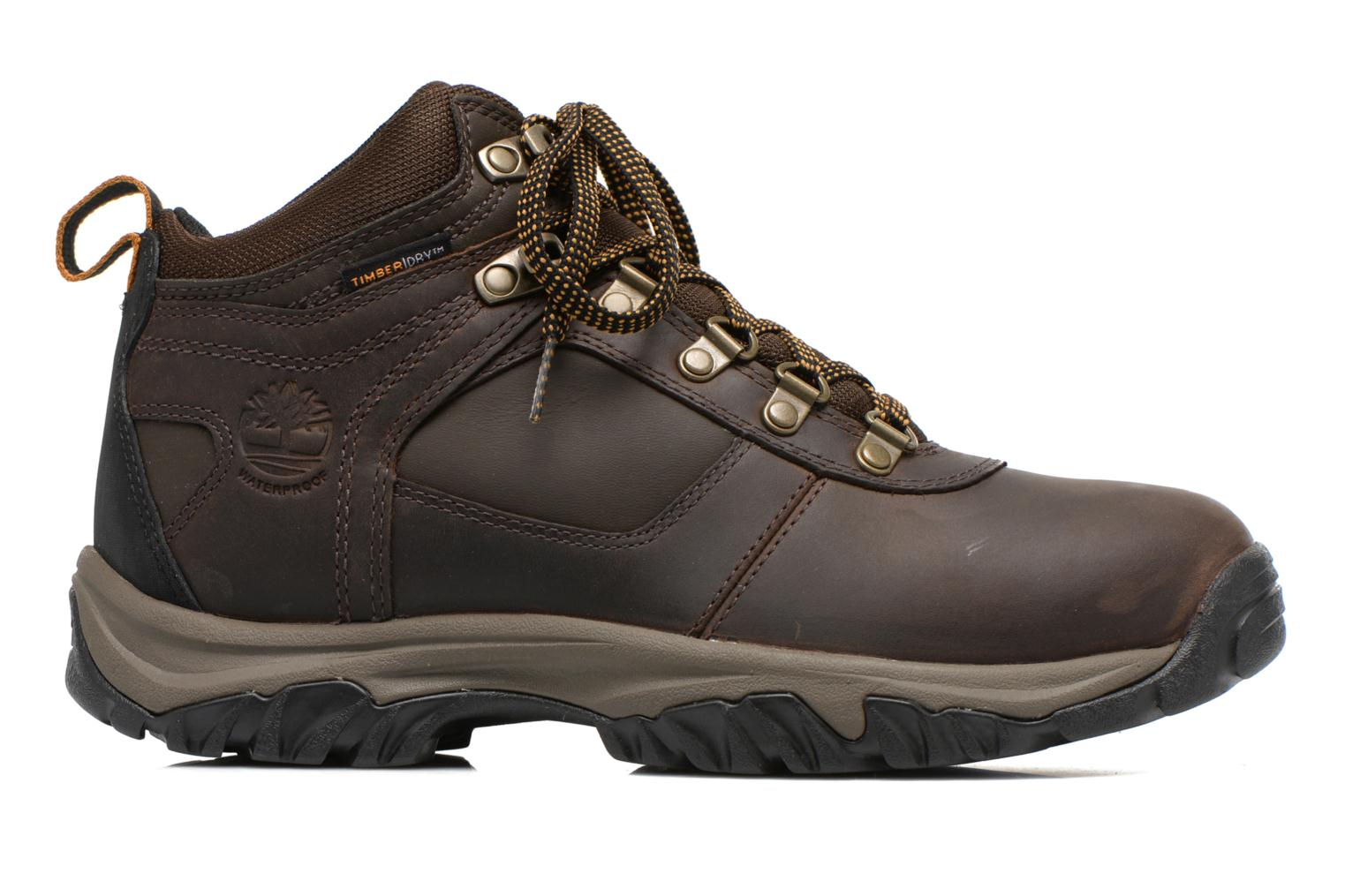 Lace-up shoes Timberland Mt Monroe Mid WP Brown back view