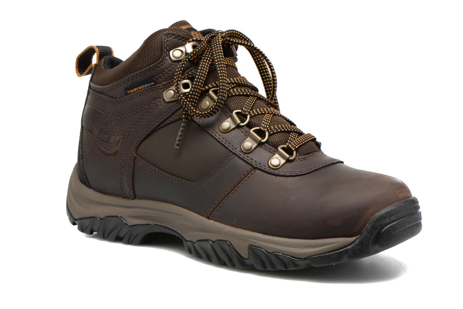 Lace-up shoes Timberland Mt Monroe Mid WP Brown detailed view/ Pair view