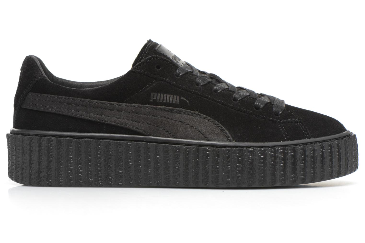 Trainers Puma WNS Suede Creepers Satin Black back view