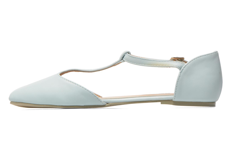 Ballerinas I Love Shoes Kiba blau ansicht von vorne