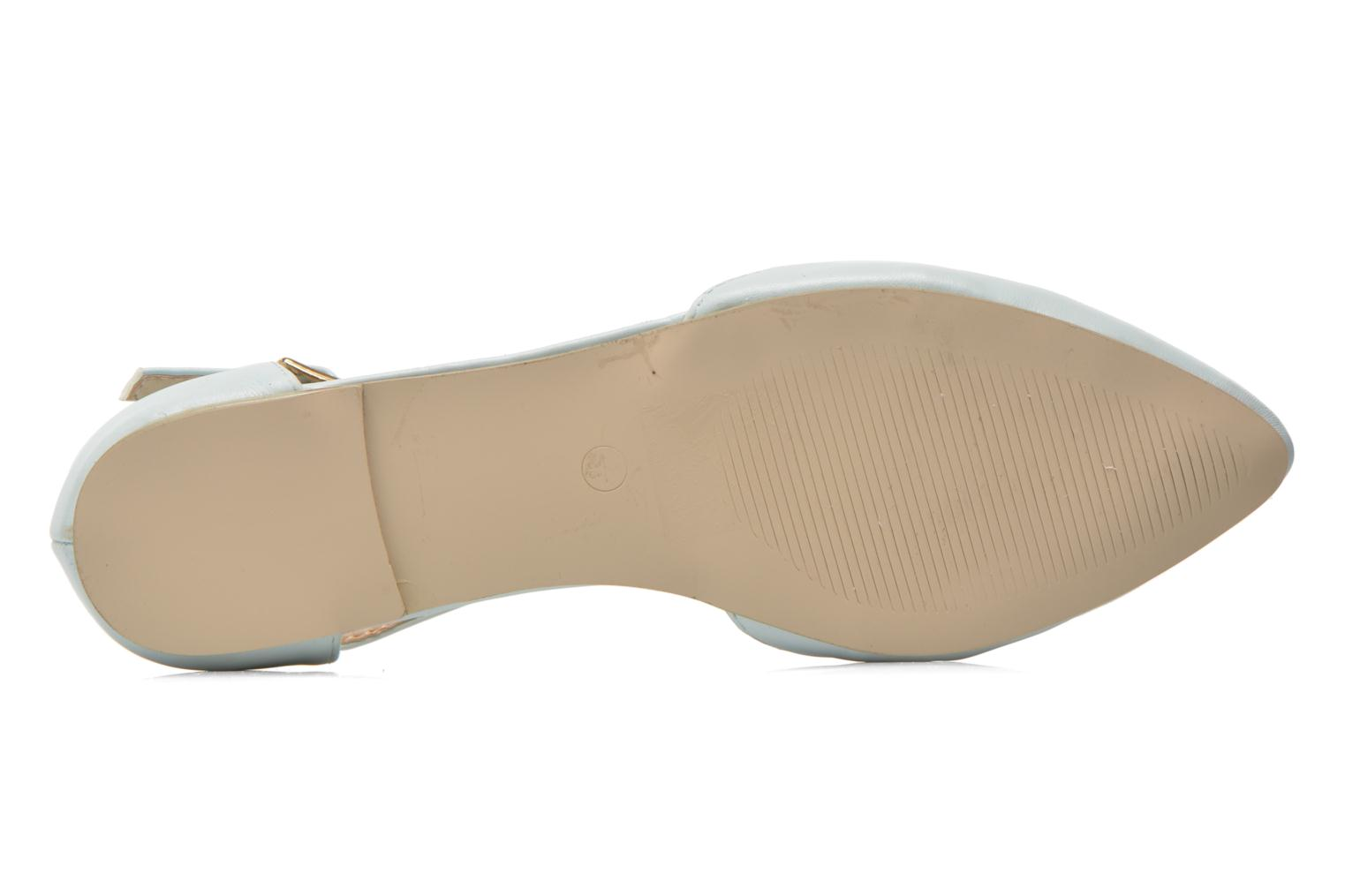 Ballet pumps I Love Shoes Kiba Blue view from above