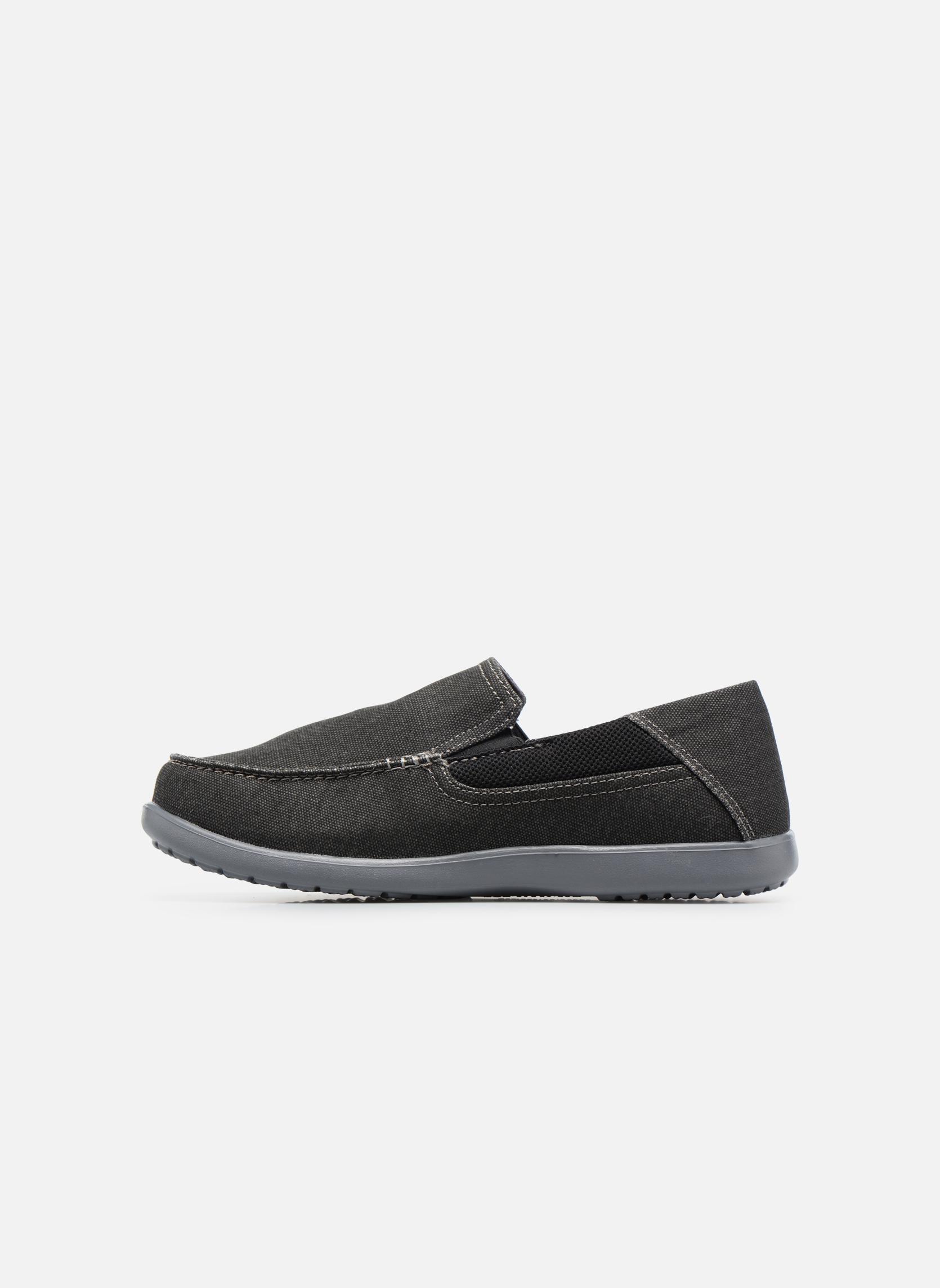 Sneaker Crocs Santa Cruz 2 Luxe M schwarz ansicht von vorne