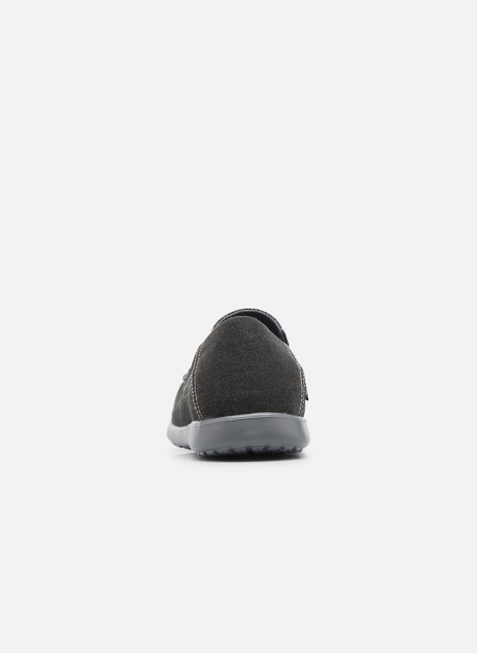 Sneaker Crocs Santa Cruz 2 Luxe M schwarz ansicht von rechts
