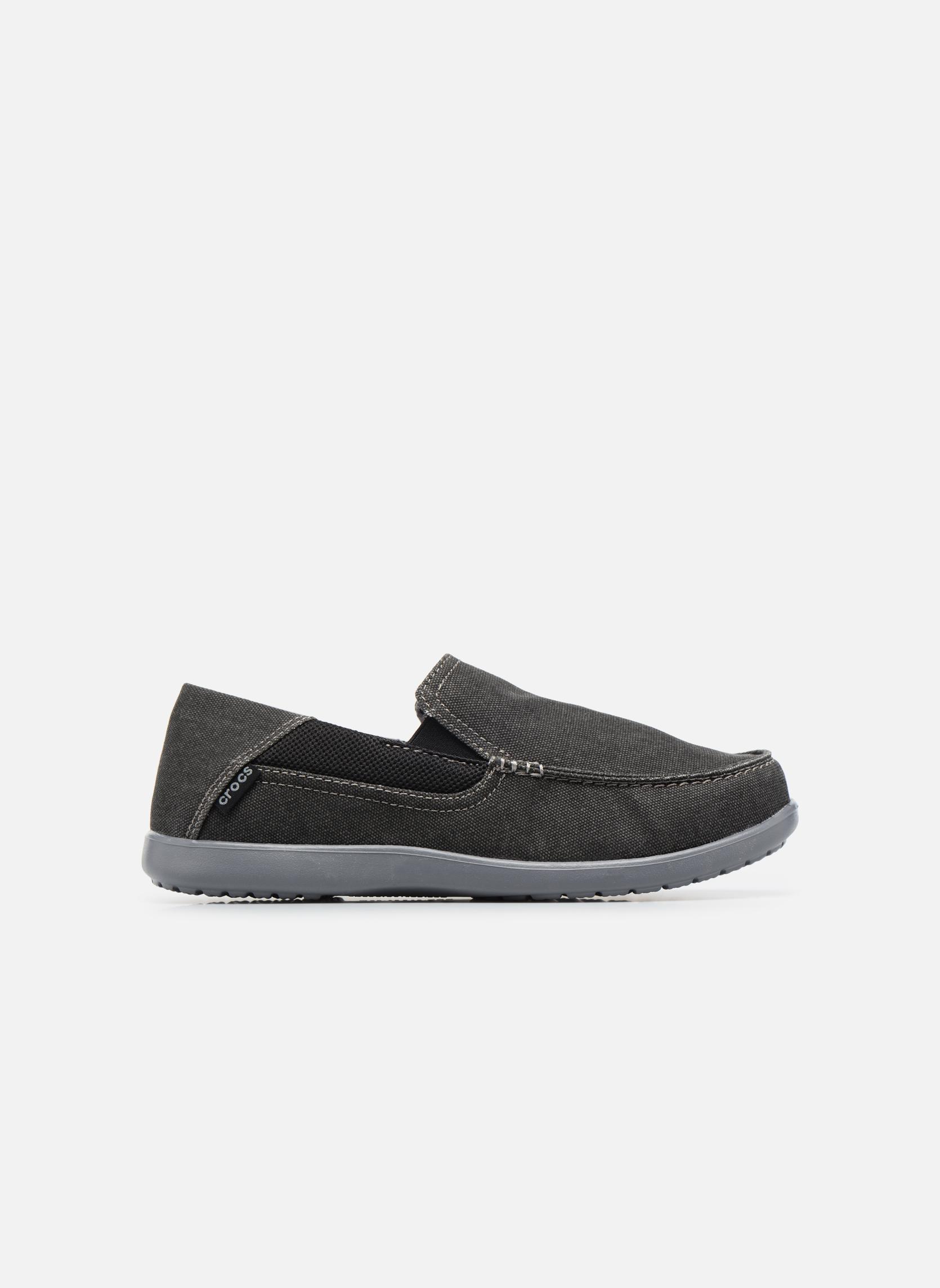Sneaker Crocs Santa Cruz 2 Luxe M schwarz ansicht von hinten