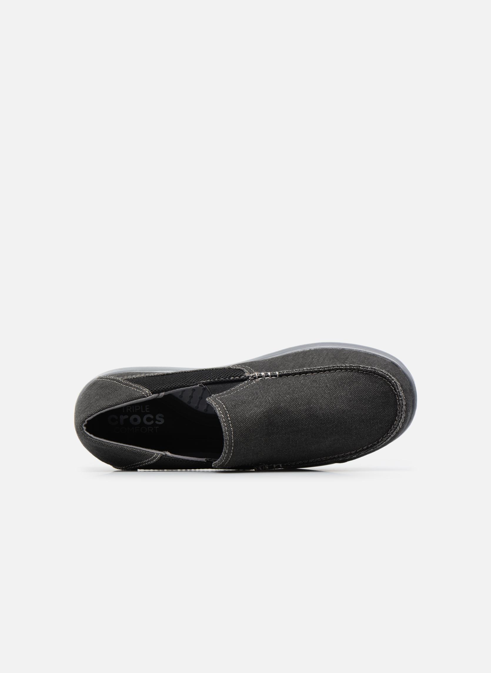 Sneaker Crocs Santa Cruz 2 Luxe M schwarz ansicht von links