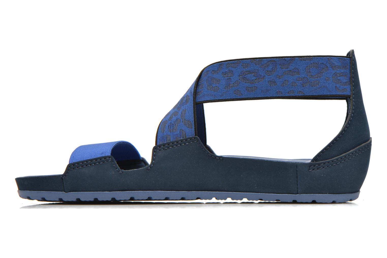 Sandales et nu-pieds Crocs Crocs Anna Ankle Strap Sandal Bleu vue face