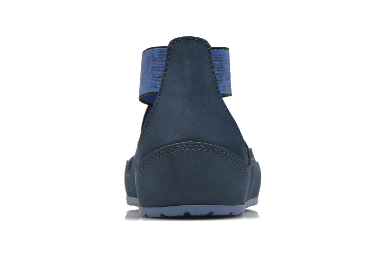 Sandalias Crocs Crocs Anna Ankle Strap Sandal Azul vista lateral derecha