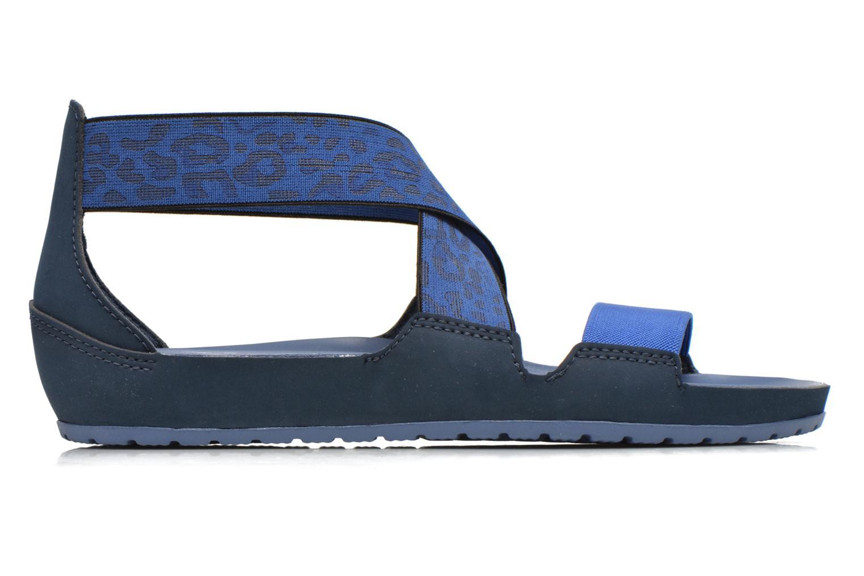 Sandales et nu-pieds Crocs Crocs Anna Ankle Strap Sandal Bleu vue derrière