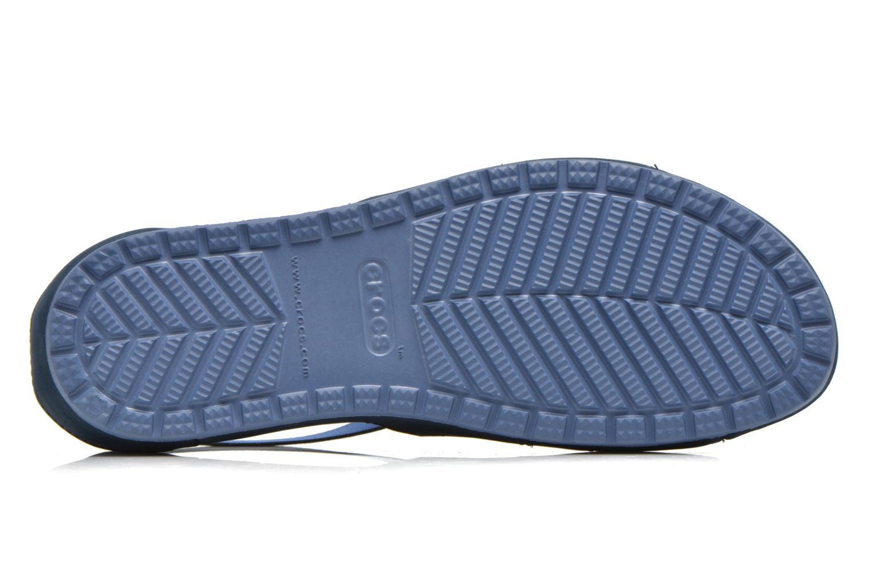 Sandales et nu-pieds Crocs Crocs Anna Ankle Strap Sandal Bleu vue haut