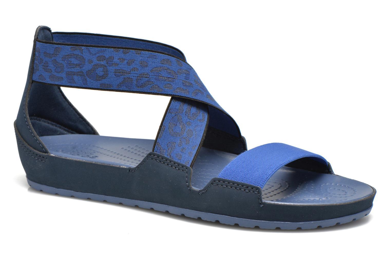 Sandales et nu-pieds Crocs Crocs Anna Ankle Strap Sandal Bleu vue détail/paire