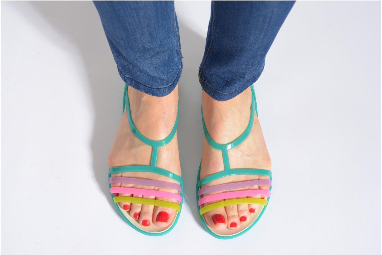 Sandales et nu-pieds Crocs Crocs Isabella Sandal W Marron vue bas / vue portée sac