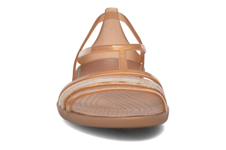 Sandales et nu-pieds Crocs Crocs Isabella Sandal W Marron vue portées chaussures