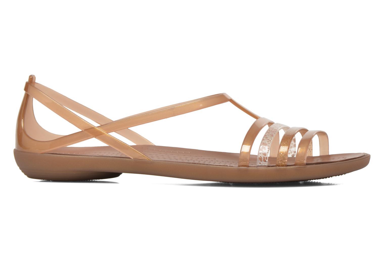 Sandales et nu-pieds Crocs Crocs Isabella Sandal W Marron vue derrière