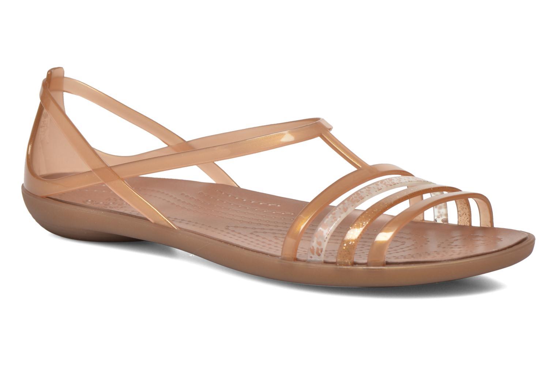 Sandales et nu-pieds Crocs Crocs Isabella Sandal W Marron vue détail/paire