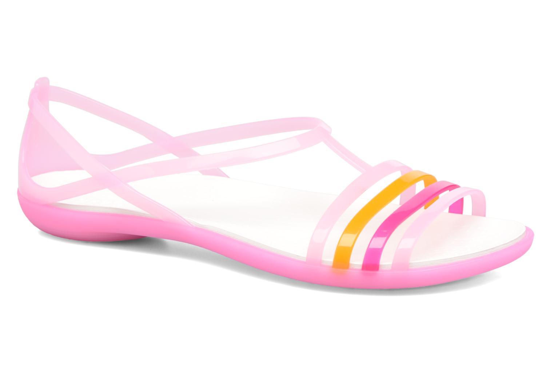 Sandales et nu-pieds Crocs Crocs Isabella Sandal W Rose vue détail/paire