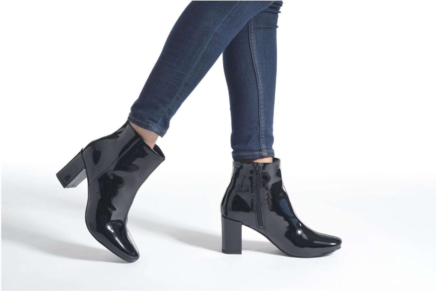 Ankle boots I Love Shoes KIDEBAIN Black view from underneath / model view