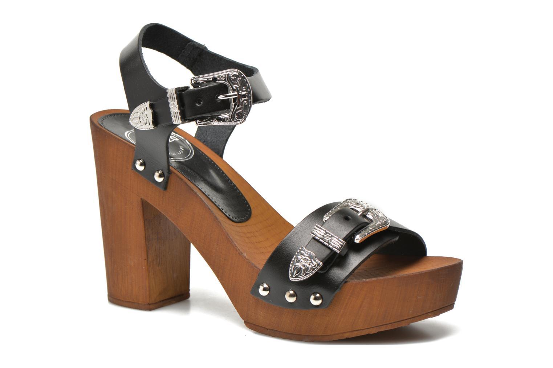 Sandali e scarpe aperte Made by SARENZA Discow Girl #10 Nero immagine frontale