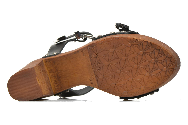 Sandales et nu-pieds Made by SARENZA Discow Girl #10 Noir vue gauche