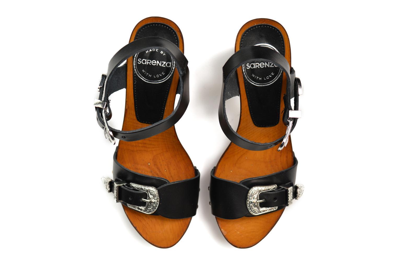 Sandales et nu-pieds Made by SARENZA Discow Girl #10 Noir vue haut