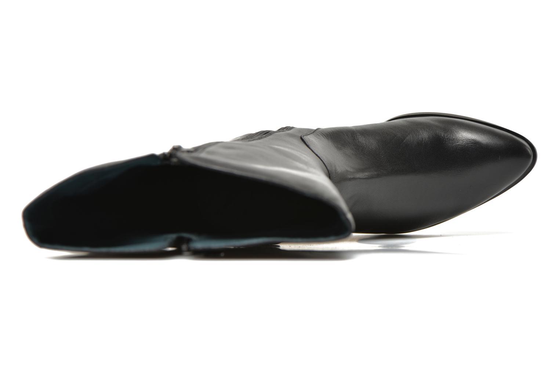 Botas Karston Hepic Negro vista lateral izquierda