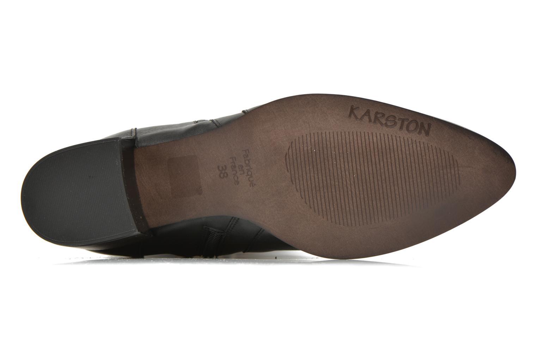 Stiefel Karston Hepic schwarz ansicht von oben