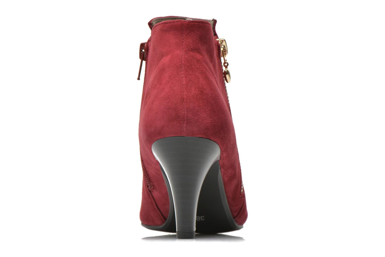 Ankle boots Sweet Glizolo Burgundy view from the right
