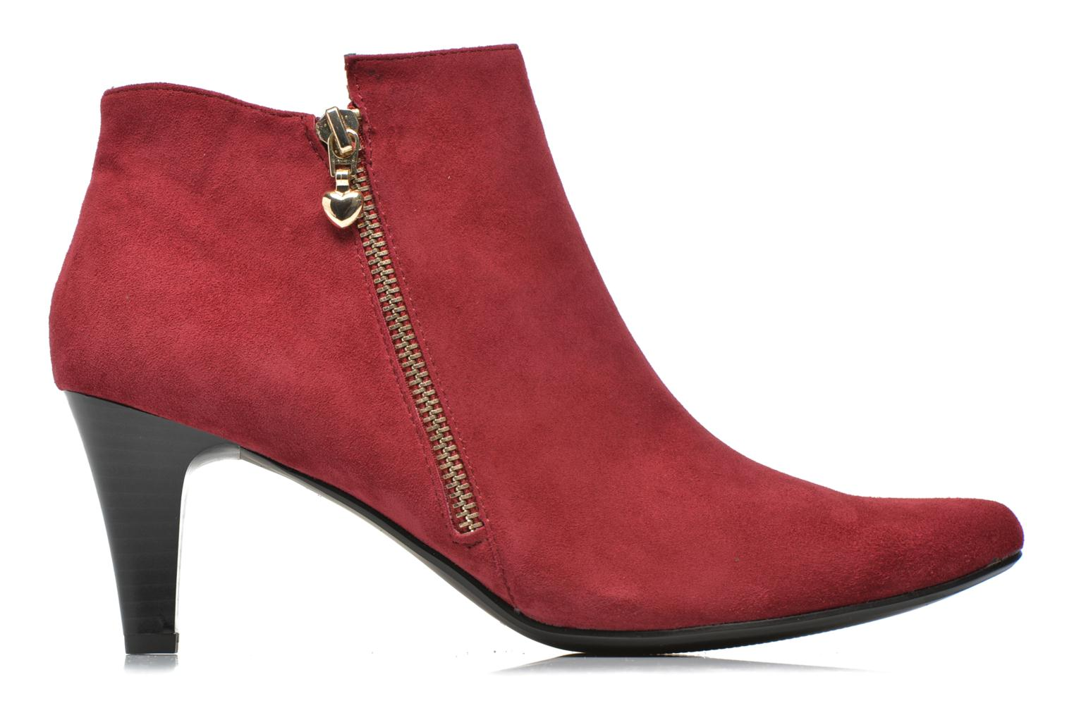 Ankle boots Sweet Glizolo Burgundy back view