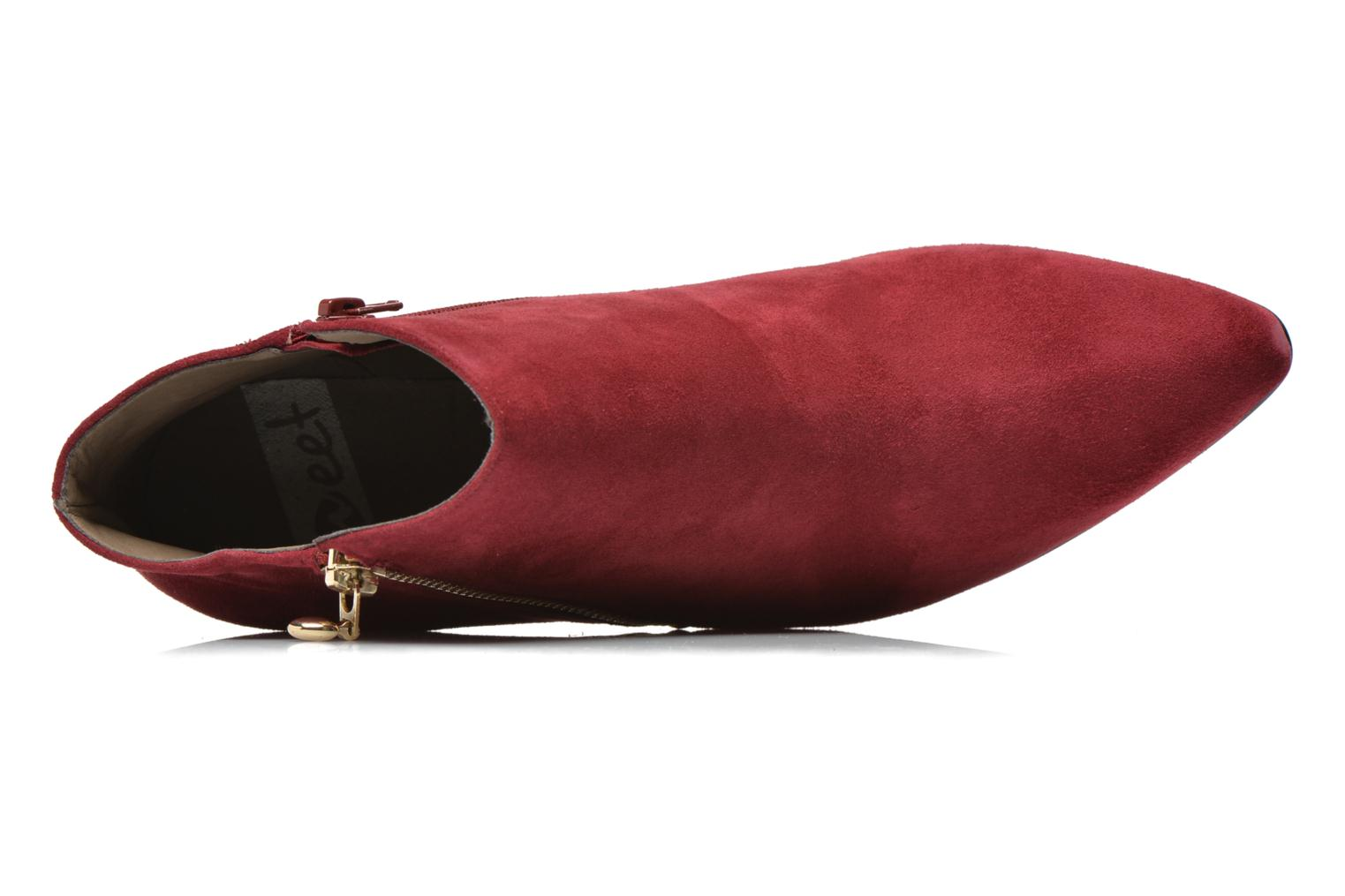 Ankle boots Sweet Glizolo Burgundy view from the left