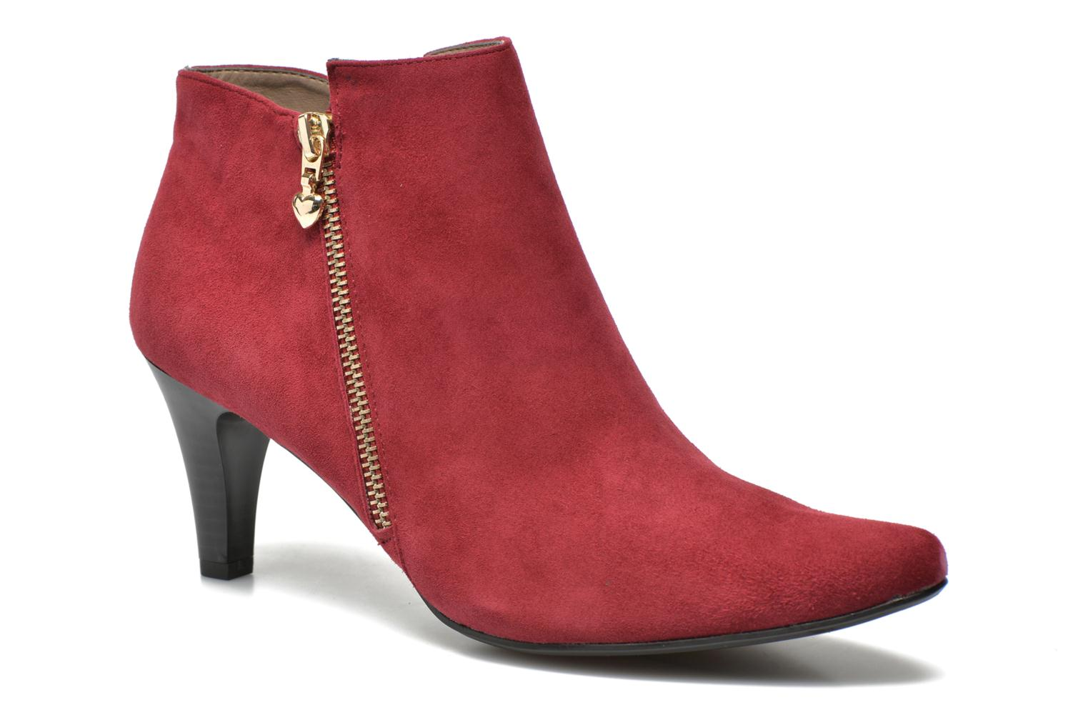Ankle boots Sweet Glizolo Burgundy detailed view/ Pair view