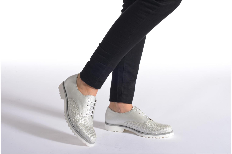 Zapatos con cordones Gabor Garance Plateado vista de abajo
