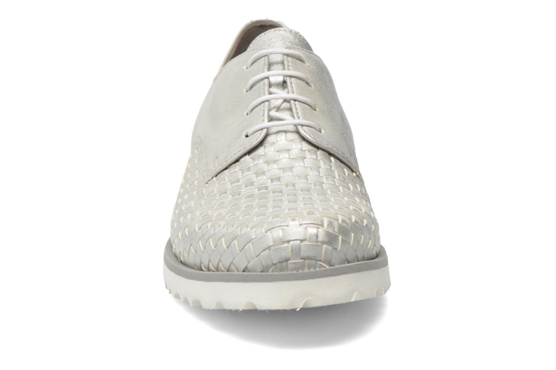 Zapatos con cordones Gabor Garance Plateado vista del modelo