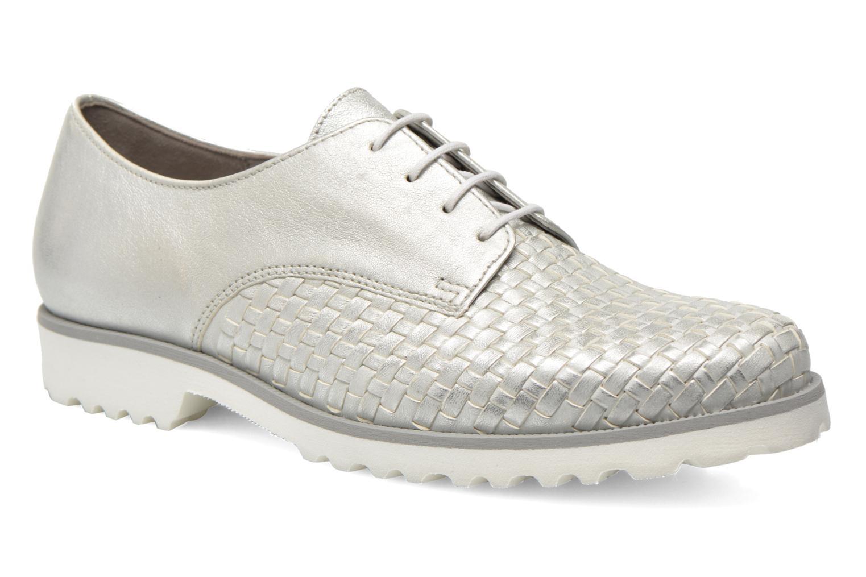 Zapatos con cordones Gabor Garance Plateado vista de detalle / par