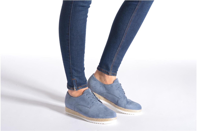 Chaussures à lacets Gabor Lilo Bleu vue bas / vue portée sac