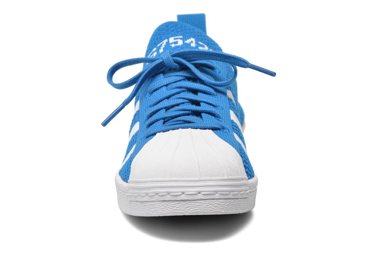 Sneaker Adidas Originals Superstar 80S PK W blau schuhe getragen