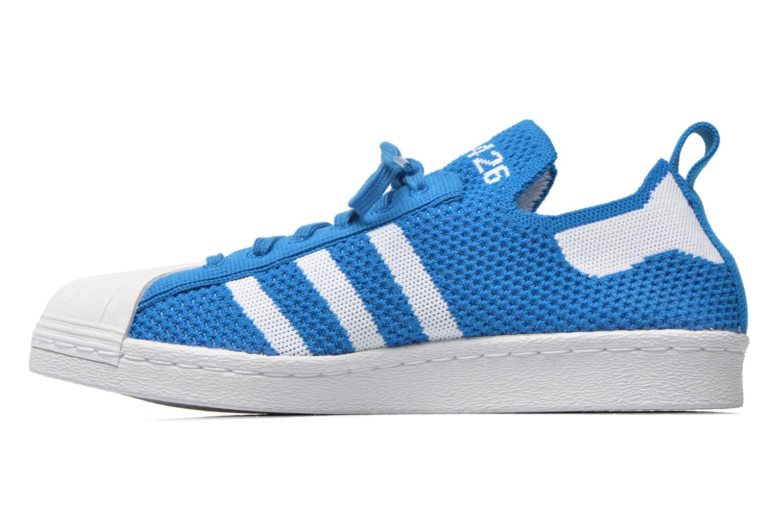 Trainers Adidas Originals Superstar 80S PK W Blue front view