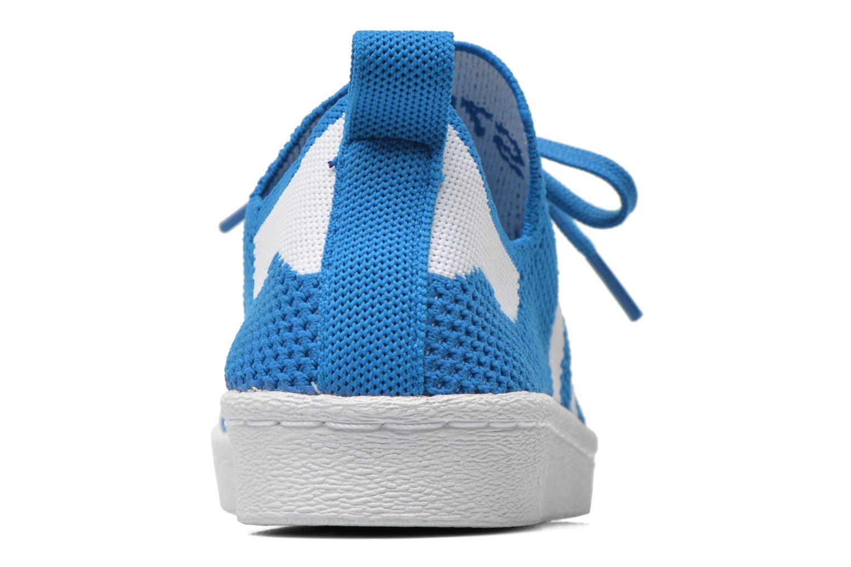 Sneaker Adidas Originals Superstar 80S PK W blau ansicht von rechts