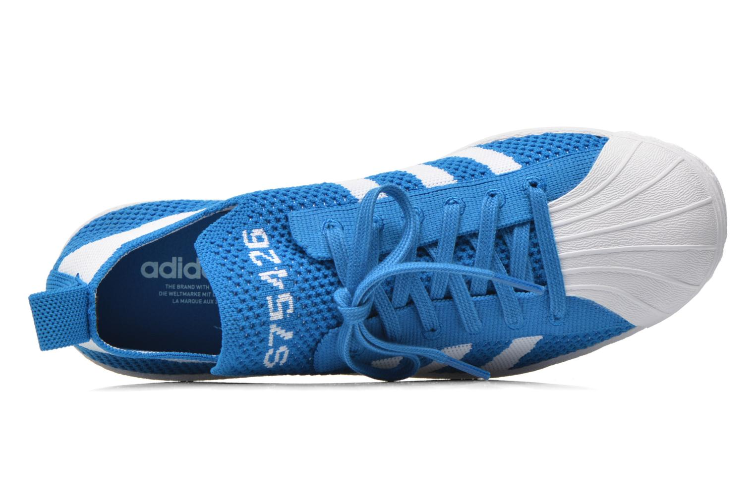 Trainers Adidas Originals Superstar 80S PK W Blue view from the left