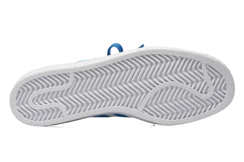 Sneaker Adidas Originals Superstar 80S PK W blau ansicht von oben