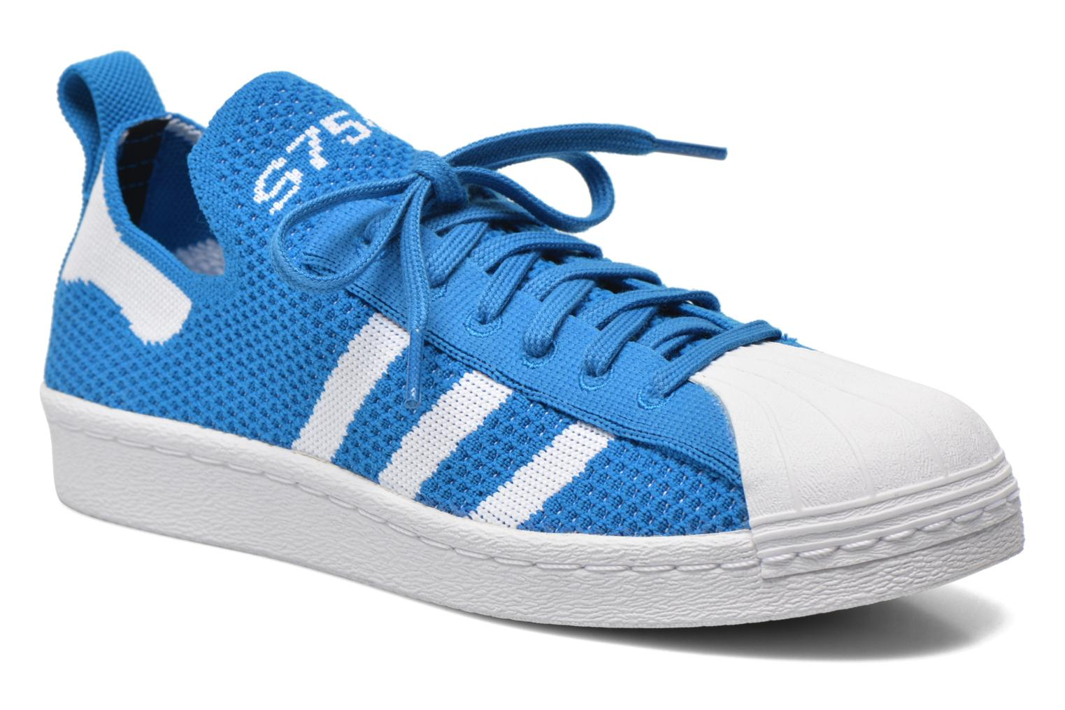 Trainers Adidas Originals Superstar 80S PK W Blue detailed view/ Pair view