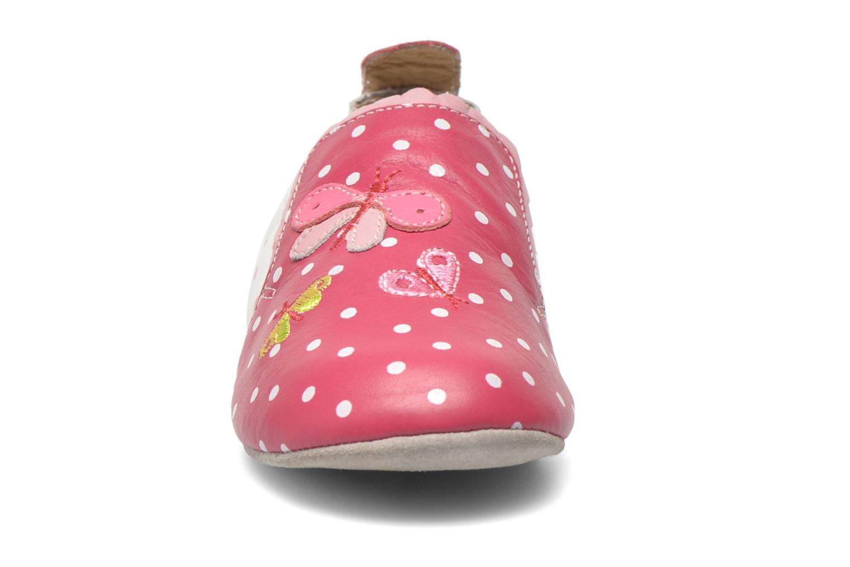 Hausschuhe Catimini Caro rosa schuhe getragen